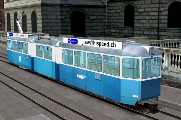 Tram Mirage hinten links